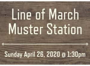 Muster-Station-Sign